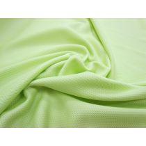 Eyelet Sports Plus Micro Jersey- Cucumber