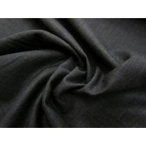 Linen Cotton Blend- BB Black