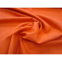 Lyocell Blend Suiting- Tropical Orange