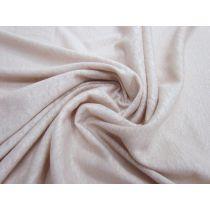 Linen Jersey- Natural Pink