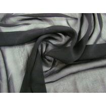 Silk Chiffon- Belladonna Black