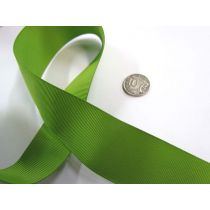 Grosgrain Ribbon 38mm- Kiwi