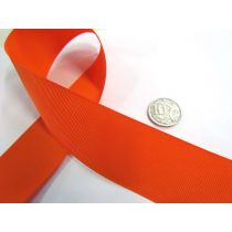 Grosgrain Ribbon 38mm- Orange