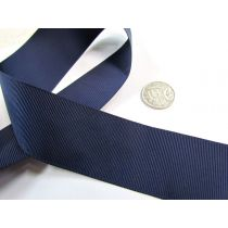 Grosgrain Ribbon 38mm- Navy