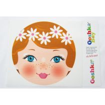Ooshka Face Panel- Daisies in Hair