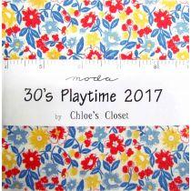 Moda 30's Playtime 2017 Charm Pack