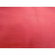 Gold Pinspot Cotton- Red