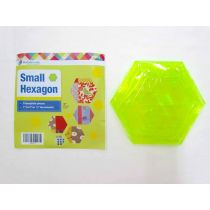 Small Hexagons Patchwork Template Set