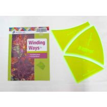 Winding Ways Patchwork Template Set