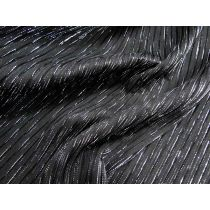 Meteor Shower Pleated Poly