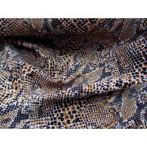 Carpet Python Bonded Georgette