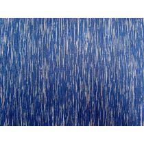 Heavy Rain Cotton- Royal