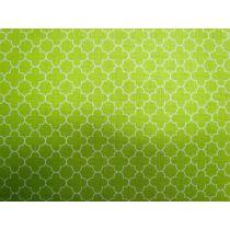 Mini Quatrefoil- Lime