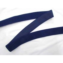 Thick Single Sided Rib Look Elastic - Royal