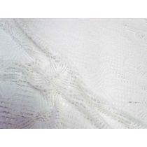 1.4m Daisy Embroidered Lace Panel