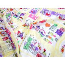 Girly Gifts Chiffon- Yellow