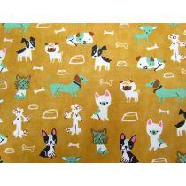 Woof Woof Meow #62- Mustard