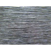 2mm Silver Metallic Hat Elastic