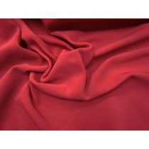 Superior Quality Stretch Ottoman- Deep Red