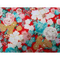 Japanese Garden #13B- Red