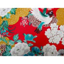 Japanese Flora & Fauna #11B- Red
