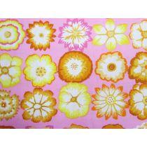 Kaffe Fassett Button Flowers- Pink