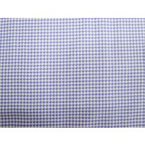 A Day In The Country- Houndstooth- Purple