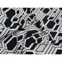 Mind Maze Soft Touch Knit- Grey/Black