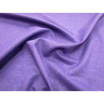 Italian Linen With Reversible Foile- Purple