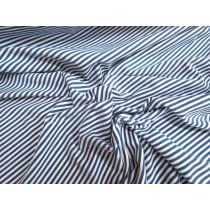 Denim Stripe Cotton Spandex