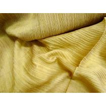 Crinkle Silk Cotton- Mustard