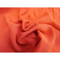 Soft Viscose Suiting- Strong Orange