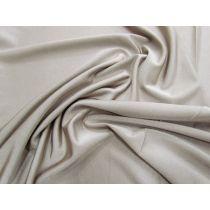 Soft Feel Shiny Slinky Jersey- Mushroom Grey