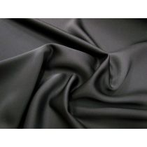 Delustered Satin Finish Viscose- Black