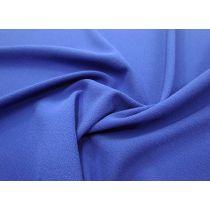 Bonded Stretch Crepe- Bright Blue