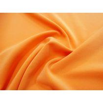 Bonded Stretch Crepe- Orange