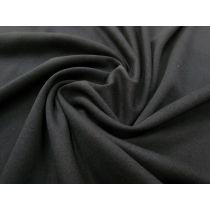 Winter Weight Cotton Knit- Black #922
