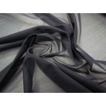2way Stretch Crystal Sheer- Ebony