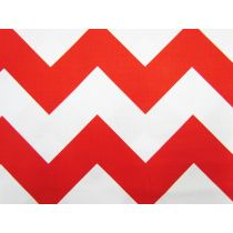 Large Chevron- Red #08