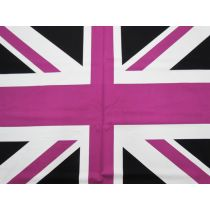 Union Jack- Panel- Purple #571