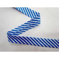 A Day In The Country Bias- Medium Stripe- Blue