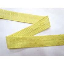 A Day In The Country Bias- Pinstripe- Lime Yellow