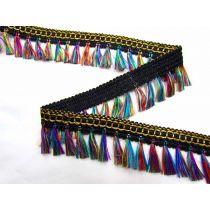 Unicorn Tail Tassel Fringe- Black