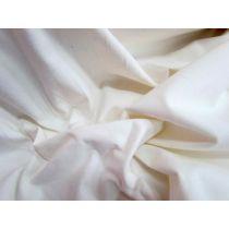Sueded Uncut Stretch Corduroy- Cream