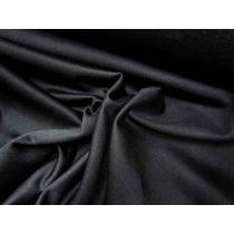 Shiny Sports Fleece- Black