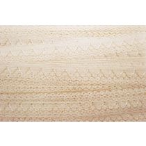 A Day At The Fete Lace Trim- Toffee Cream