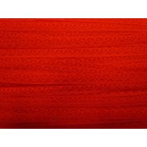 Soft Spot Lace Trim- Red