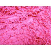 Lola Tubular Ruffle Jersey- Hot Pink