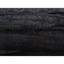 Lucky One Lace Trim- Black
