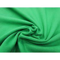Dense Cotton Fleece- Kelly Green #1089